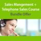 Sales Management and Telephone Sales Bundle Course