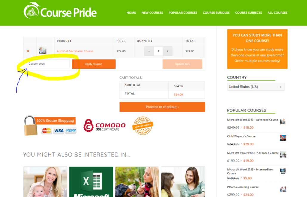 Coupon codes for course pride course pride coupon code course pride fandeluxe Gallery